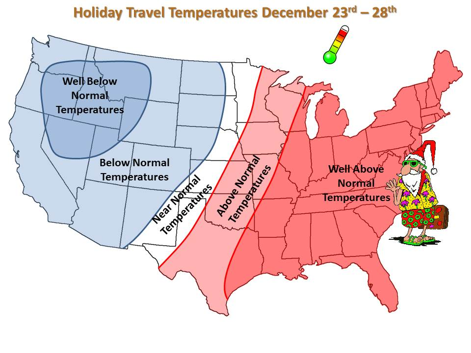 Holiday Travel Temperatures